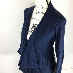 LUCKY LOTUS Womens Cotton Blue Lace Shrug Cardigan